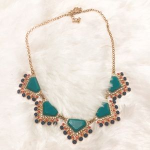Francesca's Statement semi precious necklace